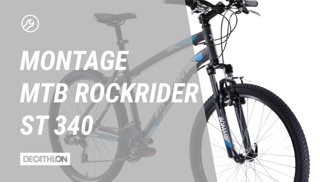 Mountainbike Rockrider 340 Die Richtige Montage
