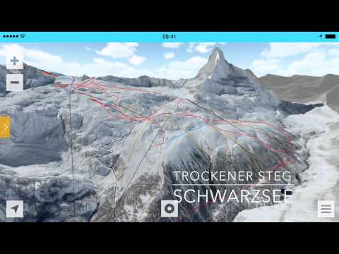 FATMAP - Zermatt 3D Ski Map
