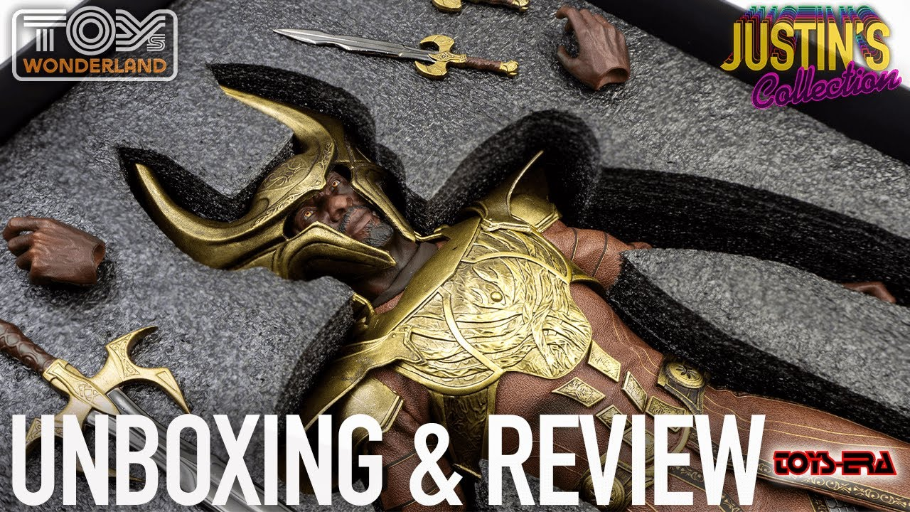 Thor Heimdall Toys-Era The Omniscient 1/6 Scale Figure Unboxing & Review