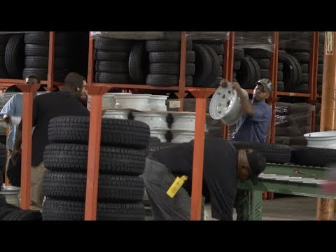 U.S. Tariffs Force Texas Tire Factory to Stock up on Tires from China