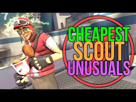 how to get unusuals in tf2