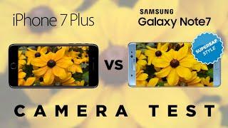 iPhone 7 Plus vs Samsung Galaxy Note 7 Camera Test Comparison