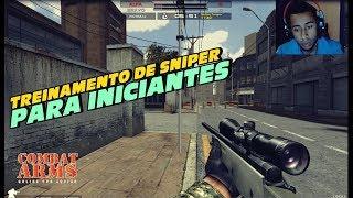 TREINAMENTO DE SNIPER PARA INICIANTES COMBAT ARMS