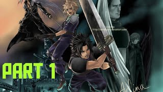 Zack Time - Crisis Core Final Fantasy VII Part 1