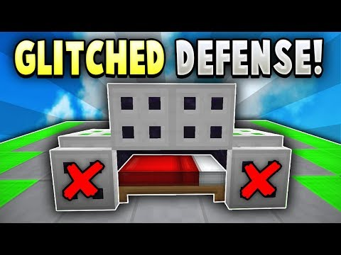 GLITCHED Item Bed Defense in Hypixel Bedwars! (SO OP!)