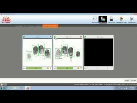 ECMP - Onboard Aadhaar Operator/Supervisior