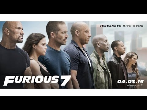 Furious 7 Trailer - Own it on Blu ray ( my edited cut version)