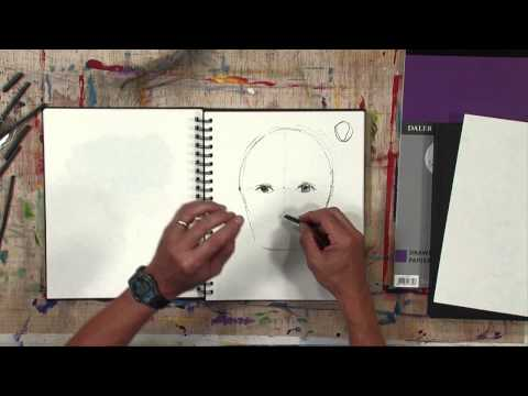 Daler-Rowney - Simply Sketching - How to sketch a human face