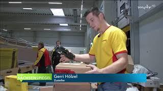 TV Doku: Neues Deutsche Post DHL Paketzentrum in Chemnitz, vollautomatisch