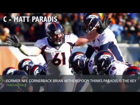 FanDuel Insider 2/5: NFL vet: Must-watch player in Super Bowl: Matt Paradis