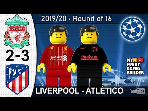 Liverpool Vs Atletico Madrid 2-3 • Lego Champions League 2019/20 • All Goals Highlights Football