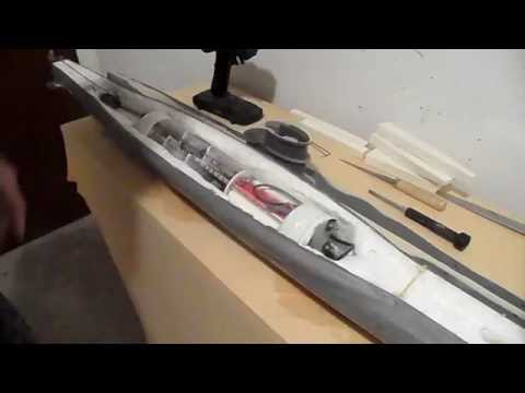 Test des U Boots Models Type VIIC 1:48 - YouTube