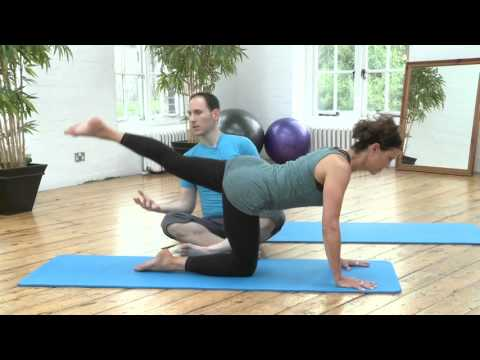 Leg Pull Front Pilates Exercise from yoopod.com