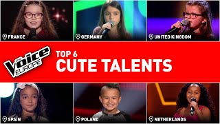 The cutest kids auditions in The Voice Kids | TOP 6