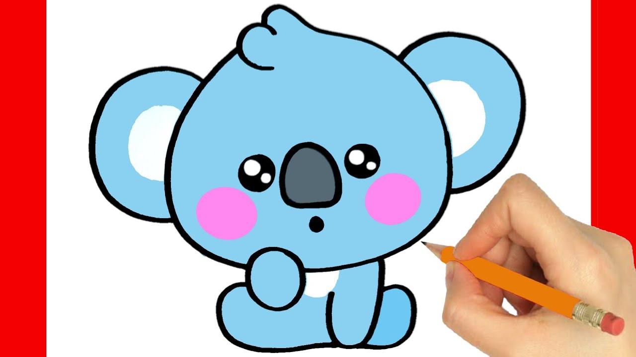 Comment Dessiner Un Koala Kawaii Youtube