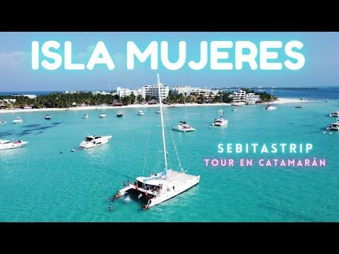 🌎🧜♂️FUI A ISLA MUJERES EN CATAMARÁN (ACABÉ MAL) 🤯NUEVA NORMALIDAD! TODO INCLUIDO! ft @CHAVOS VLOGS
