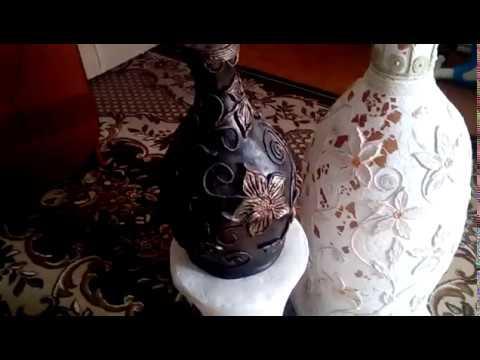 Делаем вазу напольную своими руками