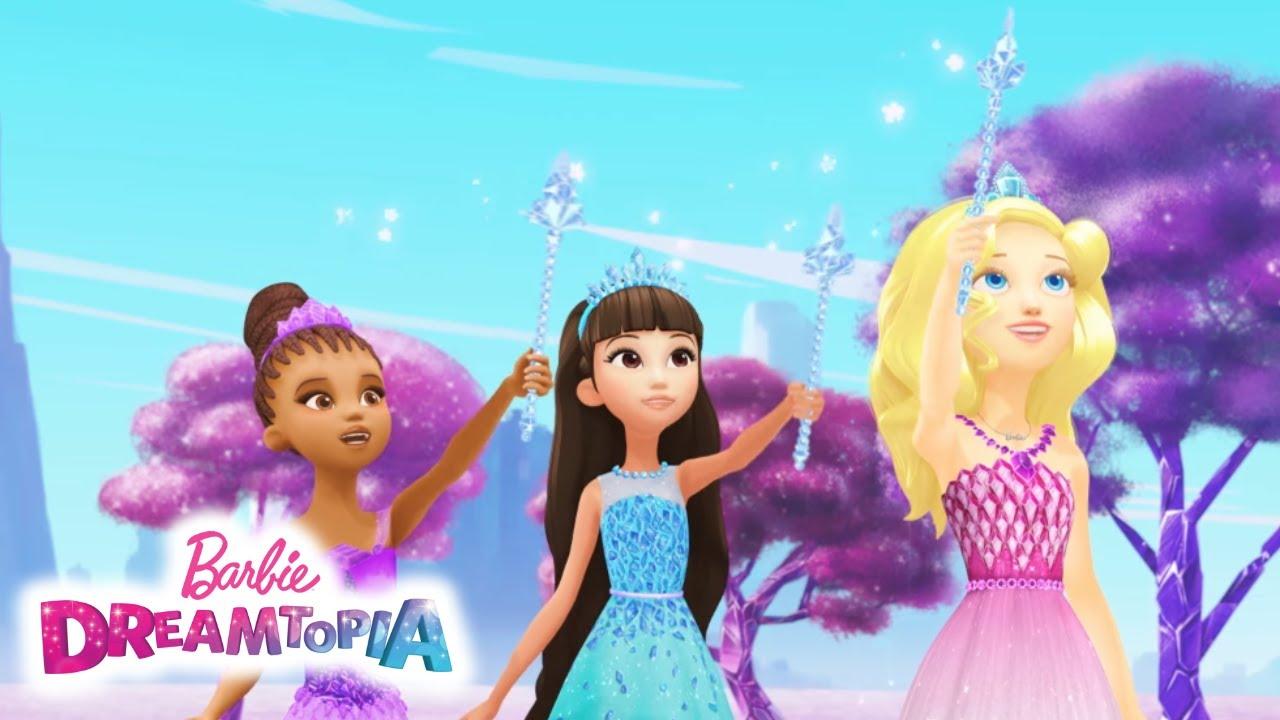 6a336ef6a0b Το κατεστραμμένο βιβλίο με τα ξόρκια   Dreamtopia   Barbie - YouTube