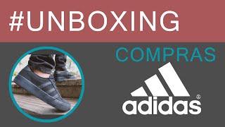 unboxing compras adidas kiel advantage vs munhequeira