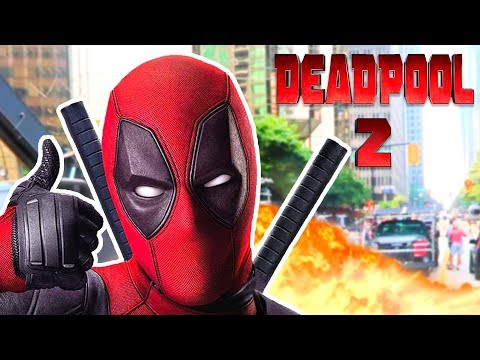 DEADPOOL 2 IN REAL LIFE!!