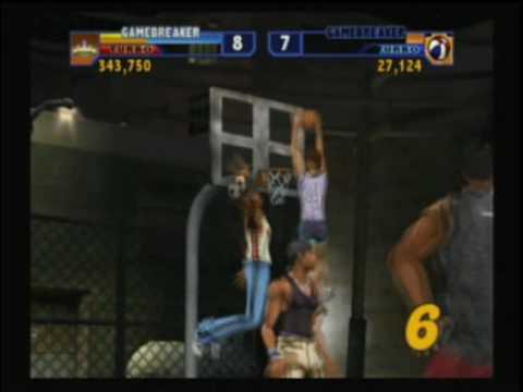 NBA Street Vol. 2  Rachel Melvin in Broad Street Mad Game
