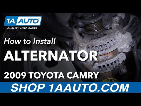 How to Replace Alternator 06-11 Toyota Camry