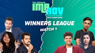 Improv Battle Winners League Match 1 Feat. @Biswa Kalyan Rath @Kanan Gill @Sumukhi Suresh  and more.