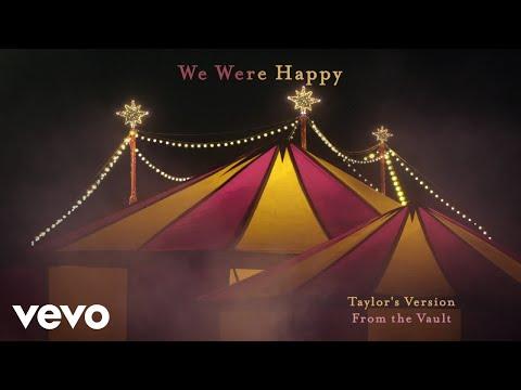 We Were Happy es la canción más triste que ha lanzado Taylor Swift