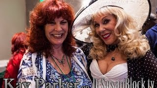 "Kay Parker of ""Taboo"" fame talks with Dr Susan Block @ the Hollywood Show"