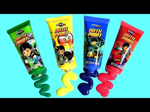 Cars Color Changers Bath Paint Miles From Tomorrow Slime Baff Learn Color Changing Bath Water Toys