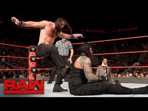 Roman Reigns vs. Elias - Intercontinental Championship Match: Raw, Nov. 27, 2017 thumbnail