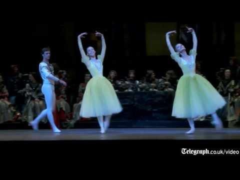 Exclusive look at Bolshoi Ballet's Swan Lake