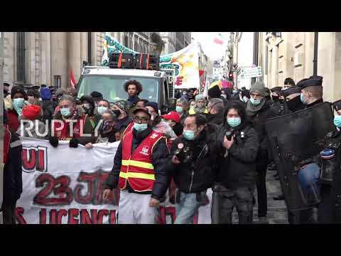France: Protesters hit Paris streets for rally against job losses