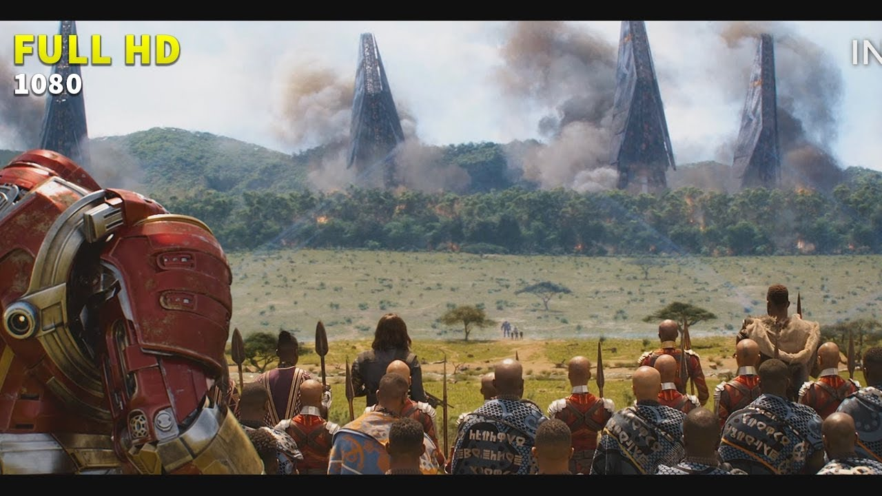 Batalla en Wakanda [COMPLETO HD] Avengers Infinity War   Infinity Clip