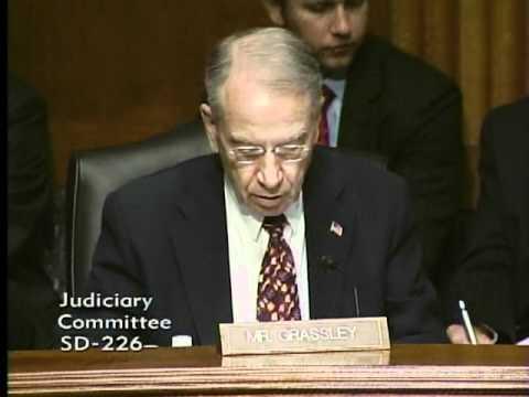 Judicial Nominee Sharon Gleason at Senate Judiciary Committee Hearing