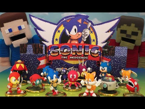 Sonic The Hedgehog Mini Series Vinyl Figure Blind Box Sega X Kidrobot Case Unboxing Youtube