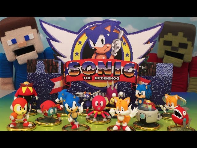 Sonic The Hedgehog Mini Series Vinyl Figure Blind Box Sega X Kidrobot Case Unboxing Youtube