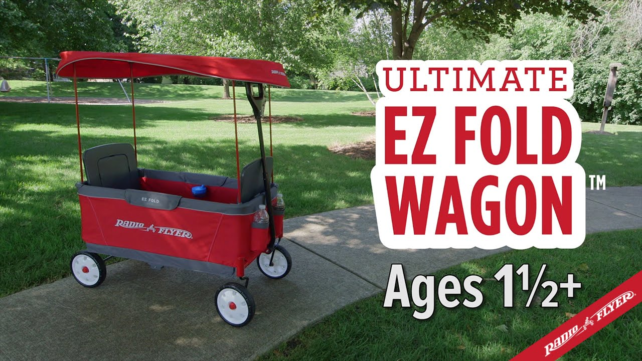 Radio Flyer Ultimate Ez Fold Wagon Youtube