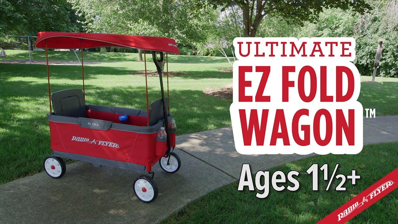 Radio Flyer Ultimate Ez Fold Wagon Youtube