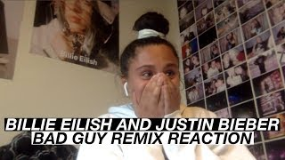 BAD GUY REMIX REACTION