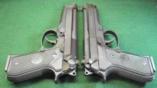 Beretta 92FS vs M9