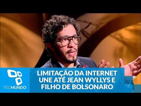 Polêmica da limitação da internet une até Jean Wyllys e filho de Bolsonaro