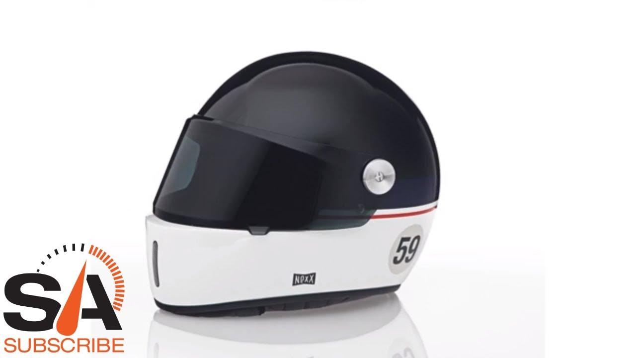 b032f292 NEXX XG100R Grandwin White Black Helmet at SpeedAddicts.com - YouTube