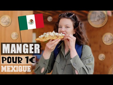 JE MANGE QUE DES TRUCS À 1€ AU MEXIQUE ! Je me régale 😋 - Claire