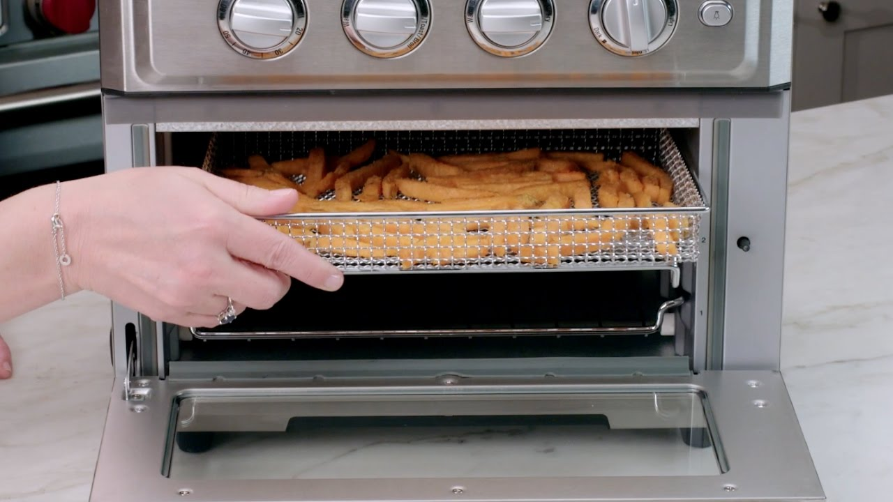 Air Fryer Toaster Oven Demo Toa 60 Youtube