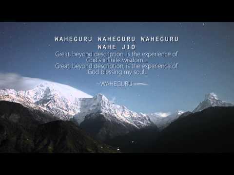 Wahe Guru Wahe Jio Simran Relaxing Soothing Meditation