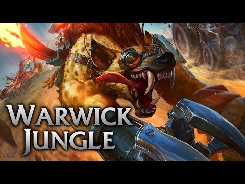 Reworked Hyena Warwick Jungle - League of Legends Commentary