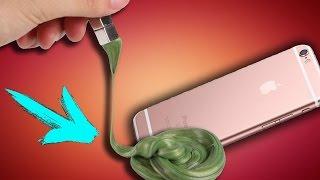 ЧТО БУДЕТ ?! СКИНУТЬ iPhone 6S с 5 ЭТАЖА в МАГНИТНОМ ПЛАСТИЛИНЕ?