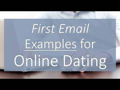 best dating email examples