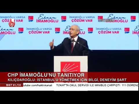 CHP İstanbul adayını tanıttı / Kılıçdaroğlu'ndan önemli açıklamalar